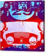 Austin Healey Bugeye Acrylic Print by Naxart Studio