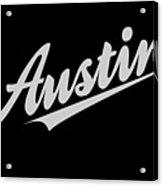 Austin Acrylic Print