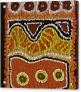 Australian Absract Acrylic Print