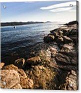 Australian Bay In Eastern Tasmania Acrylic Print