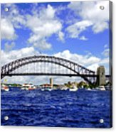 Australian Day Is A Party Day On Sydney Harbour  Acrylic Print