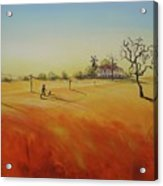 Australian Outback Painting The Way Home  Acrylic Print