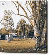 Australian Rural Countryside Landscape Acrylic Print