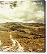 Australian Rural Panoramic Landscape Acrylic Print