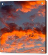 Australian Sunset Acrylic Print