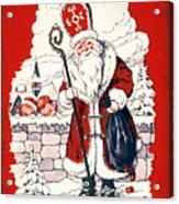 Austrian Christmas Card Acrylic Print