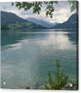 Austrian Lake Acrylic Print