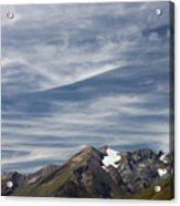 Austrian Sky Acrylic Print