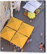 Austrian Street Scene Acrylic Print