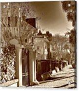 Authentic Charleston Acrylic Print