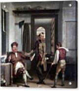 Author & Bookseller, 1811 Acrylic Print