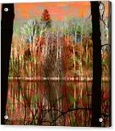 Autmn Waters Acrylic Print