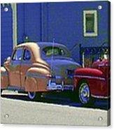 Auto Oldies Acrylic Print