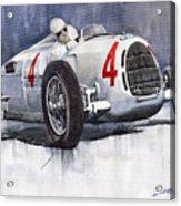 Auto Union C Type 1937 Monaco Gp Hans Stuck Acrylic Print