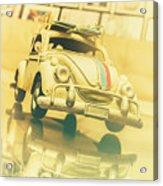 Automotive Memorabilia Acrylic Print