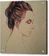 Autoportrait Maja Sokolowska Acrylic Print