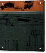 Autounion 1 Acrylic Print by Naxart Studio
