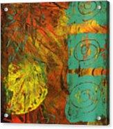 Autumen Abstract Acrylic Print