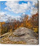 Autumn Above Eagle Bay Ny Acrylic Print