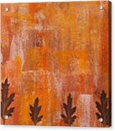Autumn Abstract Art  Acrylic Print
