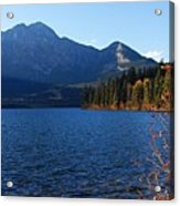 Autumn Afternoon On Pyramid Lake Acrylic Print