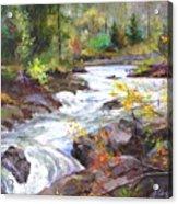 Autumn Along The Vermillion River Acrylic Print