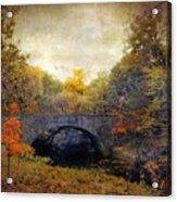 Autumn Ambiance Acrylic Print