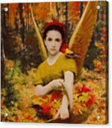 Autumn Angels Acrylic Print
