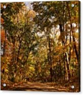 Autumn At Audubon Acrylic Print