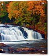 Autumn At Buttermilk Falls Acrylic Print