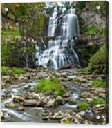 Autumn At Chittenango Falls Acrylic Print