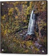 Autumn At Falling Spring Acrylic Print