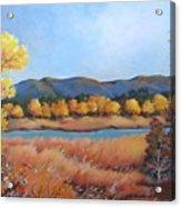 Autumn At Fraser Valley 2 Acrylic Print
