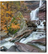 Autumn At Kaaterskill Falls Acrylic Print