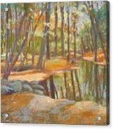 autumn at Kenoza Acrylic Print