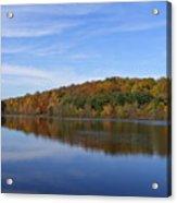 Autumn At Lake Mohegan Acrylic Print