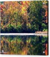 Autumn At Laurel Lake Acrylic Print