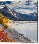 Autumn At Medicine Lake Acrylic Print