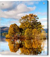 Autumn At Milarrochy Bay Acrylic Print