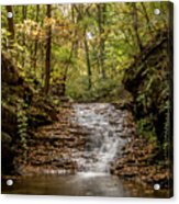 Autumn At Mill Creek Acrylic Print