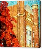 Autumn At Nwmsu Acrylic Print