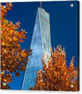 Autumn At One Wtc Acrylic Print