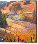 Autumn At Silvan Ridge Acrylic Print