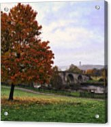 Autumn At Stirling Bridge Acrylic Print