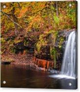 Autumn At Wolf Creek Falls Acrylic Print