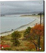 Autumn Beachcombers  Acrylic Print