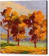 Autumn Beauties Acrylic Print