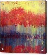 Autumn Bleed Acrylic Print