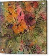 Autumn Blooms Acrylic Print