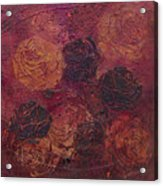 Autumn Bouquet Acrylic Print